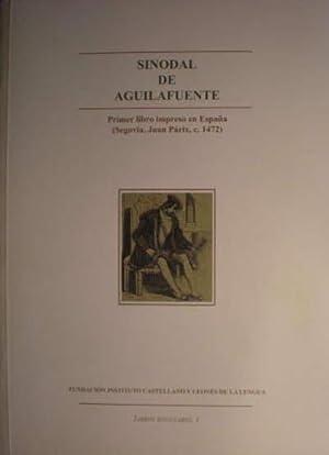 Imagen del vendedor de SINODAL DE AGUILAFUENTE. Primer libro impreso en España (Segovia, Juan Párix, c. 1472). a la venta por Librería Torreón de Rueda