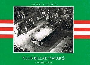 CLUB BILLAR MATARO : Ayuntamiento de Barcelona