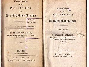 Sammlungen für die Heilkunde der Gemüthskrankheiten (in 2 Bänden),n. XIV S., 1 Bl., 484 S.; X S., 1...