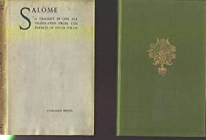 Salome. A Tragedy in One Act. Translated from the French of Oscar Wilde.: WILDE, Oscar.