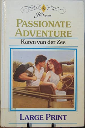 Passionate Adventure. (Large Print): Van Der Zee,