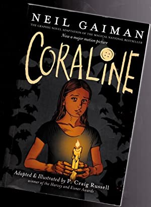 Coraline: The Graphic Novel: Gaiman, Neil; adapted
