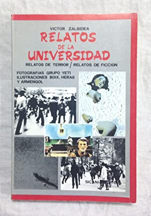 RELATOS DE LA UNIVERSIDAD. Relatos de terror.: ZALBIDEA, Víctor