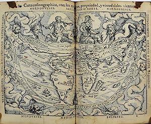 La Cosmographia de Pedro Apiano, corregida y: APIANUS, Petrus (1495-1552)
