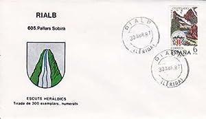 RIALB (Lérda) - 605 PALLARS SOBIRÁ - ESCUTS HERÁLDICS (Escudos Heráldicos)