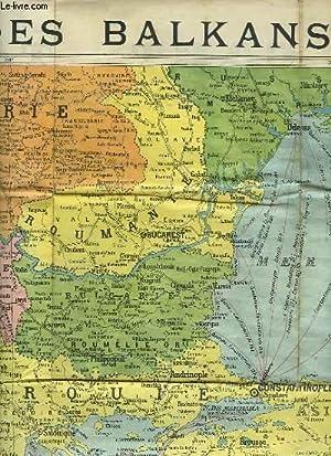 Carte Des Balkans Carte Routieres Pour Automobilistes Cyclistes Etc By Cartes Taride Map Le Livre