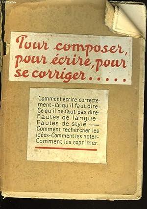 L'ART DE COMPOSER D'ECRIRE ET DE SE: ANTONIN VANNIER