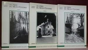 """Au pied du Mont-Tendre. Tomes I, II et III.Coll. """"Sites et Villages Vaudois"""".: BESSON, ..."""