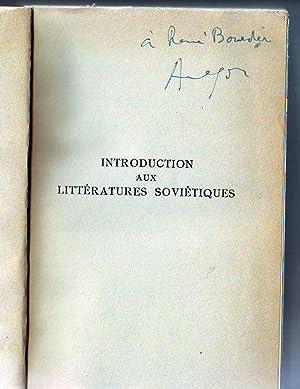 Littératures Soviétiques -1. Introduction aux littératures soviétiques, contes et nouvelles.: ...