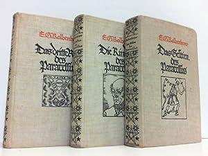 Paracelsus. Hier 3 Bände komplett ! Teil 1: Die Kindheit des Paracelsus; Teil 2: Das Gestirn des ...