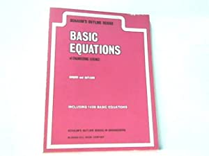 Basic Equations of Engineering Science.: Hughes and Gaylord: