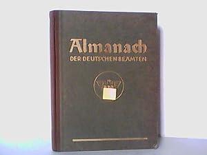 Almanach der Deutschen Beamten. Herausgegeben vom Reichsbund der Deutschen Beamten.: Reck, Leopold: