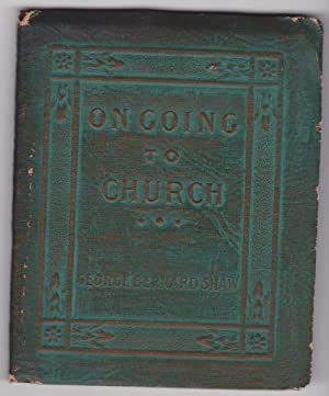 On Going To Church: Shaw, George Bernard