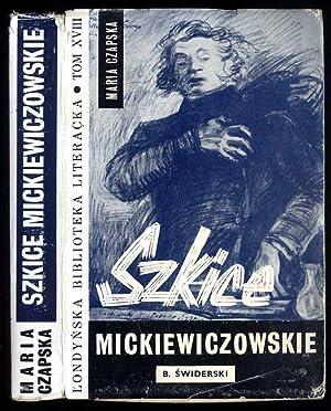 Szkice mickiewiczowskie: Czapska Maria