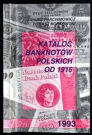 Katalog banknotow polskich od 1916.: Parchimowicz Janusz, Borkowski