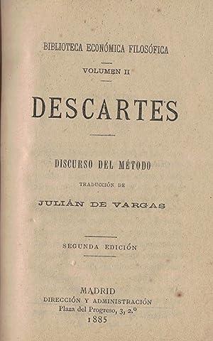 DISCURSO DEL MÉTODO: Descartes.