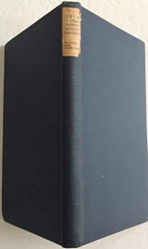 Seller image for 1914 & OTHER POEMS for sale by Chris Barmby MBE. C & A. J. Barmby