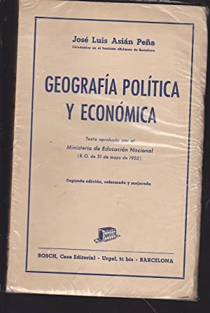 GEOGRAFIA POLITICA Y ECONOMICA: ASIAN PEÑA, José