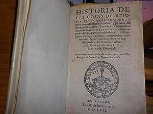 HISTORIA DE LAS COSAS DE ETIOPIA, EN: ALVAREZ, FRANCISCO