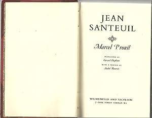 JEAN SANTEUIL.: PROUST, Marcel.