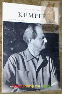 Kempff. Portraits de Roger Hauert. Collections Les grands interprètes.: GAVOTY, Bernard.