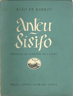 ANTEU - SÍSIFO. Poemas Dramáticos: BARROS, João de