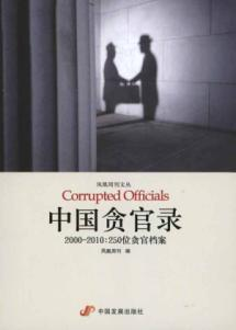 Chinese corrupt records. 2000-2010:250 bit corrupt file: FENG HUANG ZHOU