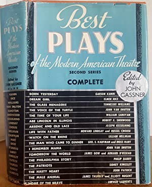 BEST PLAYS OF THE MODERN AMERICAN THEATRE: Gassner, John, (Editor)
