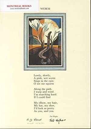 Worm (Broadside Print) -- from The Cat and the Cuckoo