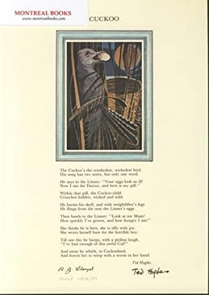 Cuckoo (Broadside Print) -- from The Cat and the Cuckoo