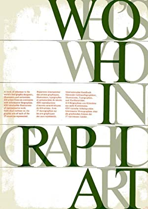 Who's Who in Graphic Art (Volume 1): Amstutz, Walter (ed.)