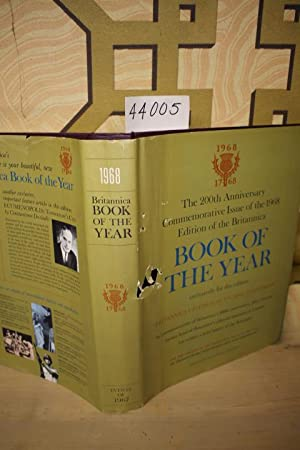 1968 Britannica Book of the Year 1968: Events of 1967: Encyclopedia Britannica