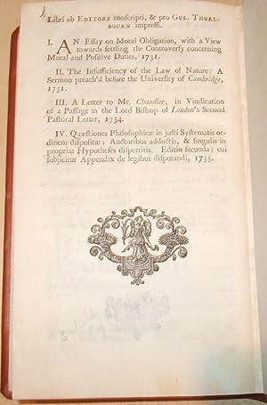 S. Pufendorfii De officio hominis & civis juxta legem naturalem libri duo. Selectis variorum ...