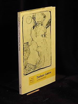 Lithographien (Originalumschlag) - 38 Bildtafeln - aus: Toulouse-Lautrec, Henri de