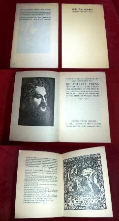 The Kelmscott Press: 1891 to 1898: A: Hrsg. S. C.