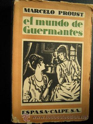 EL MUNDO DE GUERMANTES: PROUST, Marcelo
