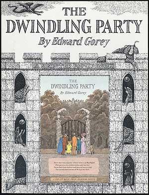 Display Poster]: The Dwindling Party: GOREY, Edward
