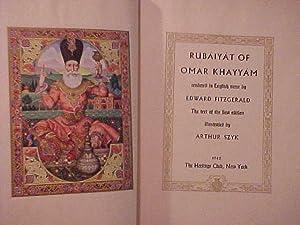 RUBAIYAT OF OMAR KHAYYAM: SZYK, Arthur illus.)
