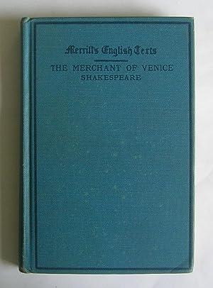 The Merchant of Venice. [comedy]: Shakespeare, William.