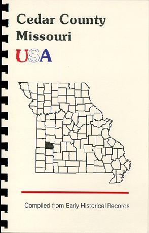 Cedar County Missouri USA from History of: Goodspeed
