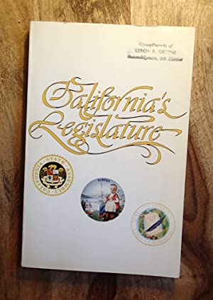 CALIFORNIA'S LEGISLATURE : 1979 - 1980