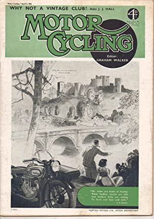 MOTOR CYCLING April 9, 1942. Magazine Front: Edited by Graham