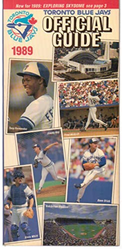 Toronto Blue Jays 1989 Official Guide