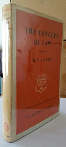 The Concept of Law. (FIRST EDITION.): HART, H. L. A. [Herbert Lionel Adolphus] (1907-1992):