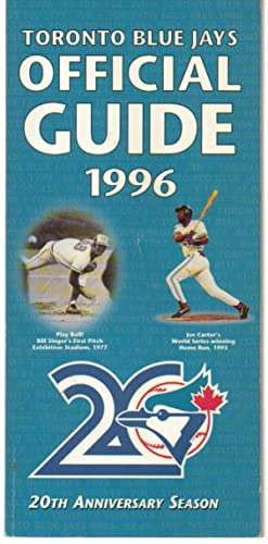 Toronto Blue Jays Official Guide 1996