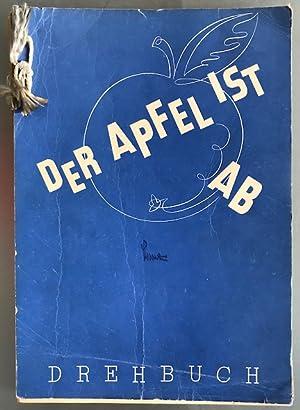 """""""Der Apfel ist ab"""". Die alte Geschichte von Adam und Eva neuerzählt. Nach Motiven der ..."""