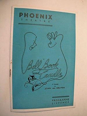 Phoenix Theatre Programme: Bell Book and Candle: van Druten, John: