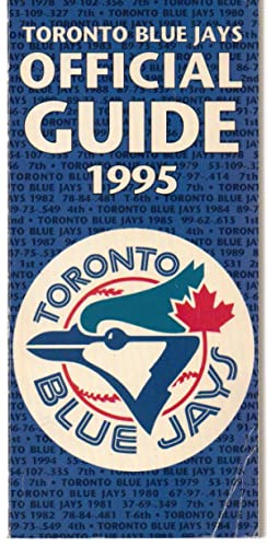 Toronto Blue Jays Official Guide 1995