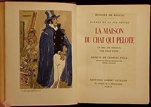 La maison du Chat-qui-Pelote, suivi de Le bal de Sceaux et de Une fille d'Eve: BALZAC (de), ...
