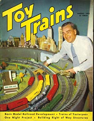 Seller image for Toy Trains: The model Trainman's Magazine: Vol. 1, No. 10, August 1952 for sale by Clausen Books, RMABA